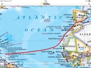 unsere Reise in die Karibik